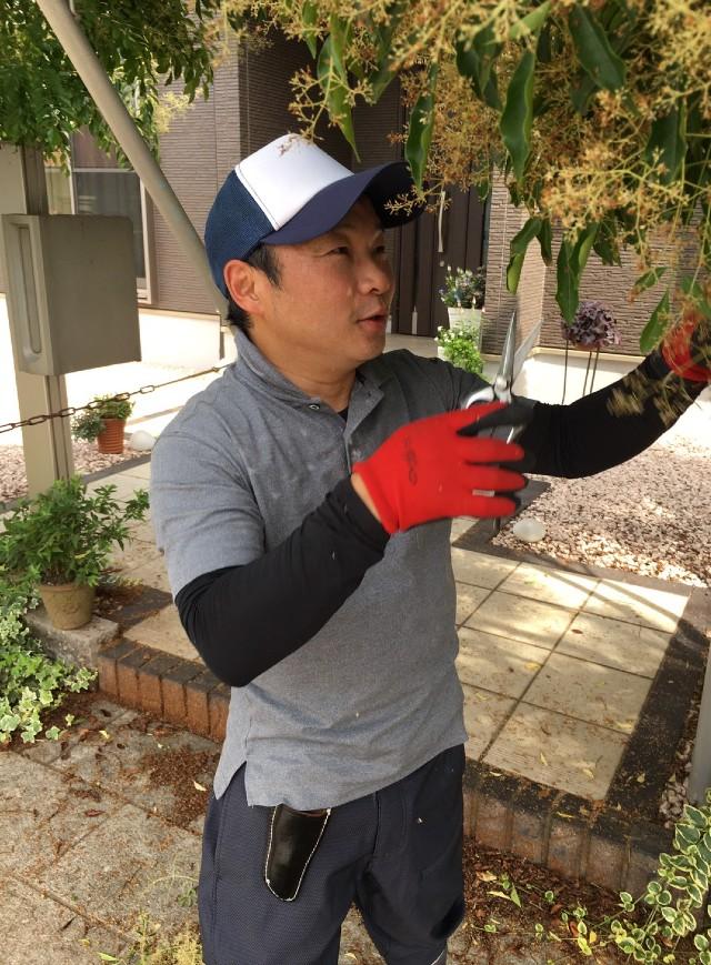 庭師・職人の吉田昌良